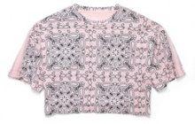T-shirt MILEY CYRUS, scollo rotondo, maniche corte