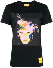 - Calvin Klein Jeans - T - shirt stampata 'Andy Warhol' - women - Cotone - XS , S, M, L - Nero
