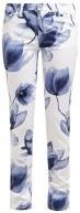 ORCHID - Pantaloni - weiss-blau