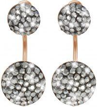 Orecchini in argento 925 rosato e cristalli