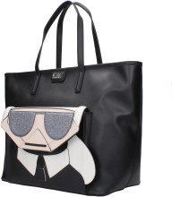 Borse a Mano Karl Lagerfeld Donna Nero