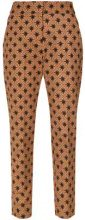- Andrea Marques - printed straight trousers - women - Cotone/Spandex/Elastane - 38 - unavailable