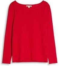ESPRIT 087ee1i026, Felpa Donna, Rosso (Cherry Red 615), XX-Large