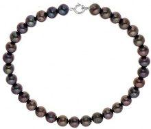 Pearls Colors &-Braccialetto multifilo, in argento 925, con Perle d'acqua dolce, 18 PC-BRMC05 cm