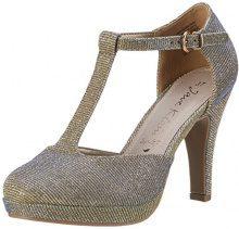 Jane Klain283 710 - Scarpe con Tacco Donna, Oro (Oro (Gold)), 40