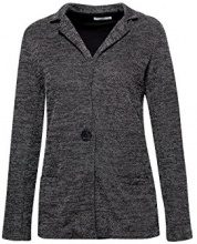 edc by Esprit 107cc1g023, Giacca Donna, Grigio (Anthracite 5 014), Large
