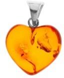 InCollections 0614400050570 - Pendente da donna con ambra, argento sterling 925