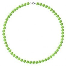 Pearls & Colors Collana di perle Donna - AM18-COL-AG-R67-M-LVE