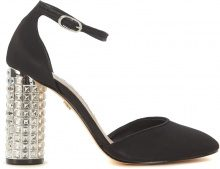 Sandalo Nina New York Imperia in camoscio nero