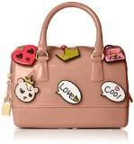 Furla 801398 Candy Cookie Mini Borsa a Secchiello, Sintetico, Moonstone, 22 cm