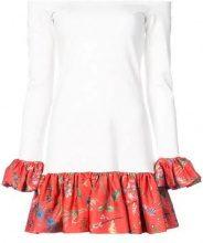 Alexis - Estelle off shoulder dress - women - viscose/Polyester/Spandex/Elastane - S - Bianco