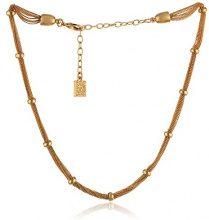 Anne Klein maglie d' argento, lunghezza 40cm, base metal, colore: Gold, cod. 60253747-887