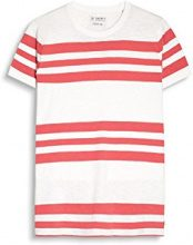 ESPRIT 057ee2k002, T-Shirt Uomo, Rosso (Coral Red), Large