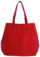 Shopping bag - red/pink