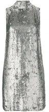 - P.A.R.O.S.H. - sequin embellished dress - women - fibra sintetica/PVC - M, XS - di colore grigio