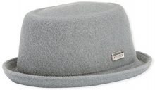 Kangol - Wool Mowbray, Cappello pork pie da donna, grigio(grau), L