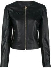 - Pinko - Irroratrice biker jacket - women - fibra sintetica/cotone/pelle di agnello - 38, 40, 42, 44 - di colore nero