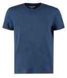 REGULAR FIT - T-shirt basic - dark blue denim