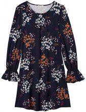FIND SS1701 OPT2 vestiti donna casual, Blu (Navy Mix), 40 (Taglia Produttore: X-Small)