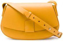 - Nico Giani - saddle bag - women - cotone/pelle - Taglia Unica - di colore arancione