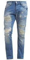 Jeans a sigaretta - light blue demin