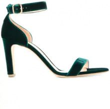 - Rupert Sanderson - Barrii velvet sandals - women - Leather/Velvet - 38, 35, 38.5, 39, 36, 39.5, 40, 41, 37.5 - Verde