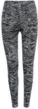 ESPRIT Sports Alloverprint, Leggings Sportivi Donna, Grigio (Dark Grey 3 022), 38 (Taglia Produttore: Medium)
