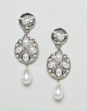 Orecchini effetto perla