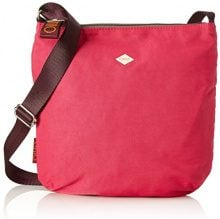Oilily Groovy Shoulderbag Lvz - Borse a tracolla Donna, Pink, 1x28x29 cm (B x H T)