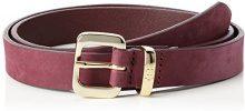 Tommy Hilfiger Fancy Belt 3.0CM Rev, Cintura Donna, Blu Navy, X-Small (Taglia Produttore: 75)