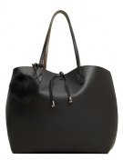 HALEY - Shopping bag - black