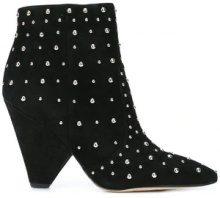 - Sam Edelman - leather ankle boots - women - pelle scamosciata/metallo/pelle - 6, 6.5, 8 - di colore nero