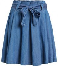 VILA Short Denim Skirt Women Blue