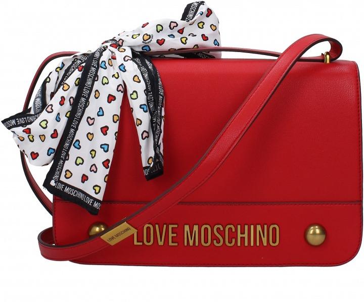 cff8ef587f Borse a Tracolla Love Moschino Donna Rosso | Bantoa