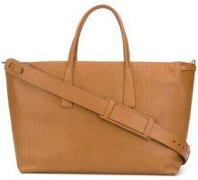 - Zanellato - large tote with pouch - women - Leather - Taglia Unica - Marrone