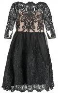 EVETTE - Vestito elegante - black/nude