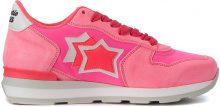 Sneaker Atlantic Stars Vega in suede e tessuto fucsia