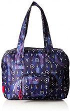 Oilily Enjoy Shopper Xlhz 1 - Borse a secchiello Donna, Blau (Dark Blue), 18x30x40 cm (B x H T)