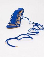 Sandali stile gladiatore con tacco