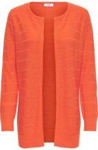ONLY Long Knitted Cardigan Women Orange