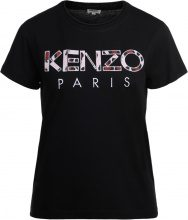T-shirt Kenzo in cotone nera con logo