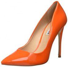 Steve Madden Daisie, Scarpe col Tacco Punta Chiusa Donna, Arancione (Orange 001), 37.5 EU