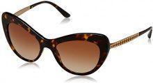 Dolce & Gabbana 0DG4307B 502/8G 52, Occhiali da Sole Donna, Marrone (Havana/Greygradient)