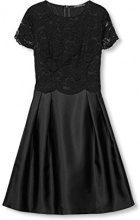 ESPRIT Collection 017eo1e009, Vestito Donna, Nero (Black), 38