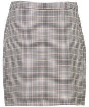 VERO MODA Chequered Skirt Women Grey