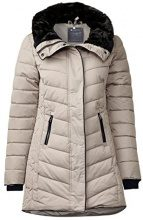 Street One OJP_shaped Padded Coat, Giubbotto Donna, Beige (Champagne 10995), 40 (Taglia produttore: 34)