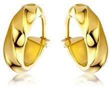 Miore Orecchini Donna Cerchio Oro Giallo 9 Kt/375