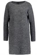 VIRIVA  - Vestito di maglia - dark grey melange
