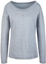 Marc Cain Sports HS 48.21 J52, T-Shirt Donna, Multicolore (Silver Grey 810), 44 (N3/44)
