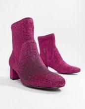 Stivali rosa glitterati